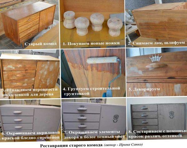 Как обновить комод своими руками фото фото 533