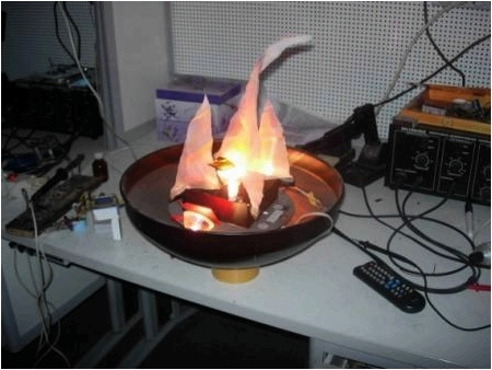 Искусственное пламя своими руками фото 487