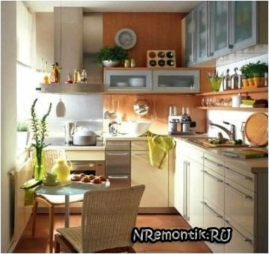 Сделать ремонт на маленькой кухне своими руками фото