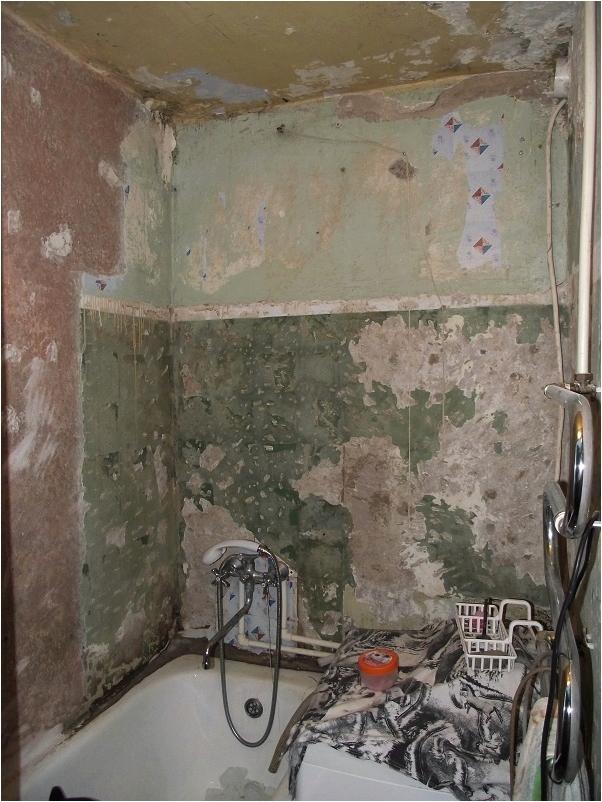 Снять краску со стен