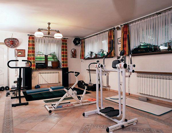 Как сделать дом спортзалом