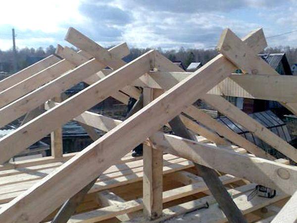 Стропила крыши домов своими руками