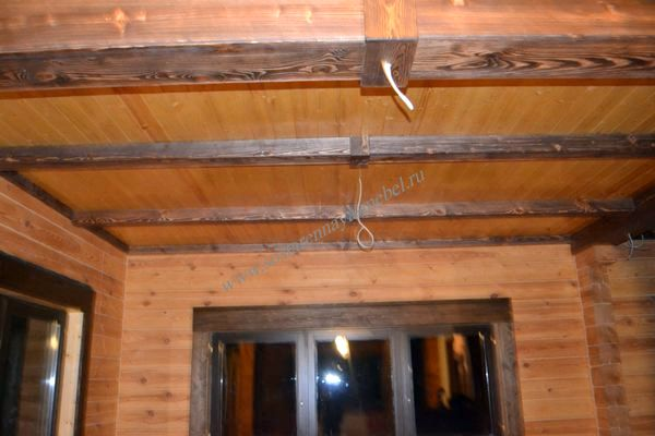 Деревянные балки на потолок своими руками