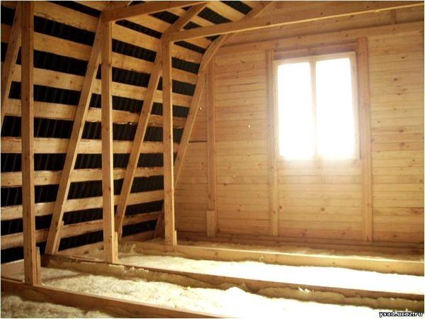 Деревянный дом мансарда своими руками