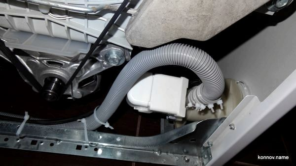 Замена шланга в стиральной машине своими руками видео