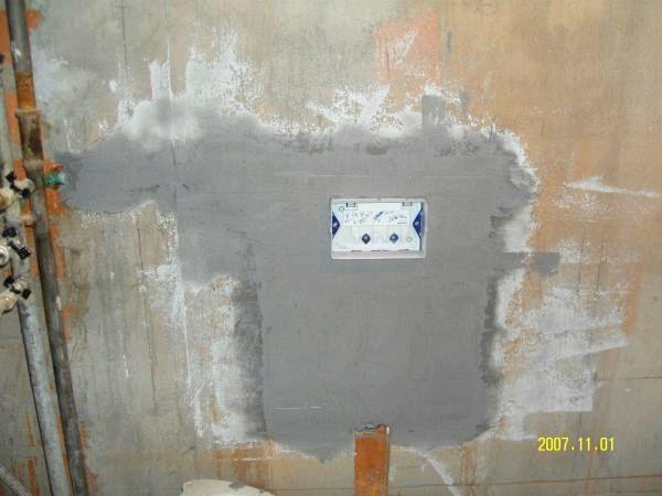 Как ремонтировать встроенный сливной бачок