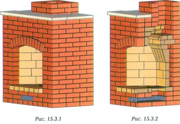 Построить камин из кирпича своими руками