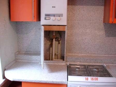 Как можно спрятать газовые трубы на кухне фото: http://amebelfoto.ru/27709-kak-mozhno-sprjatat-gazovye-truby-na-kuhne-foto.html