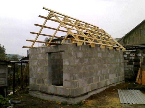 Как сделать крышу дома своими руками из шифера