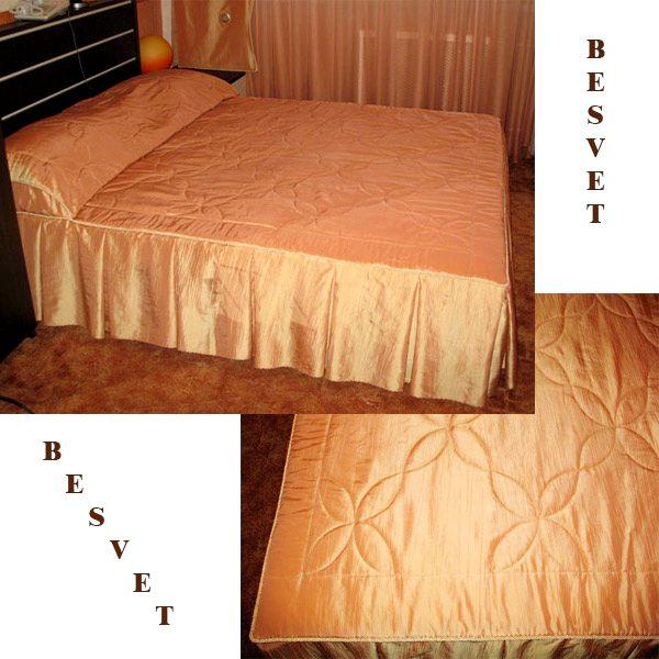 Шьем покрывало на кровать своими руками мастер класс