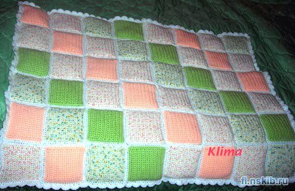 Вяжем своими руками одеяло