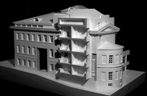 Макет здания из бумаги своими руками фото
