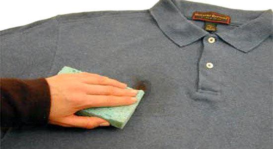 Совет как удалить жирное пятно с одежды фото