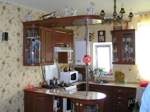 Барная стойка на кухне своими руками фото